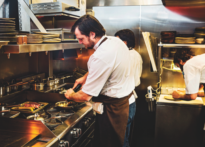 Chef Benjamin Sukle, an alumnus of The Dorrance, now heads up the restaurant Birch, which offers a seasonally-influenced menu and a wine list replete with organic, sustainable and natural offerings.
