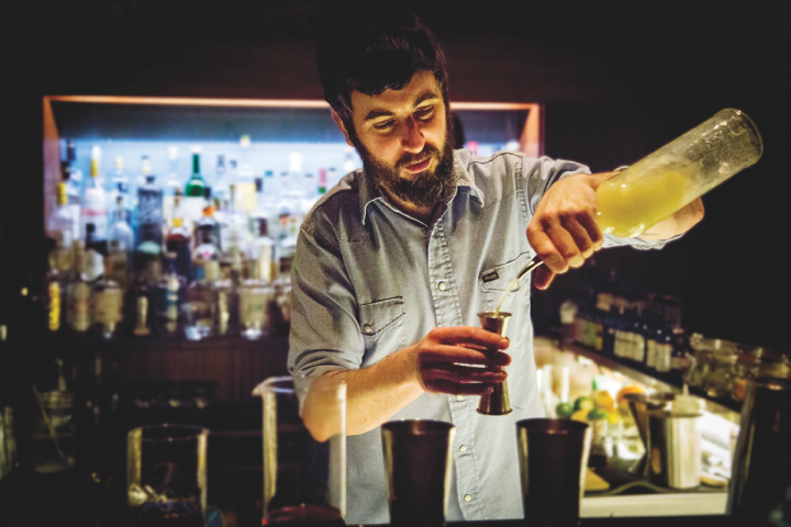 Former New York City bartender Jay Carr opened Eddy to offer creative mixed drinks, classic cocktails and familiar favorites.