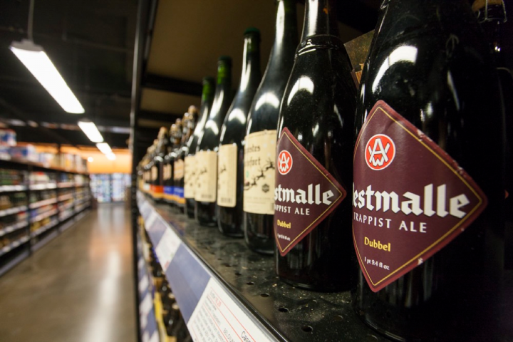Half Time offers imported beers from over 60 countries, from cult Belgian labels and popular Mexican offerings to more obscure brews from Argentina and Poland.