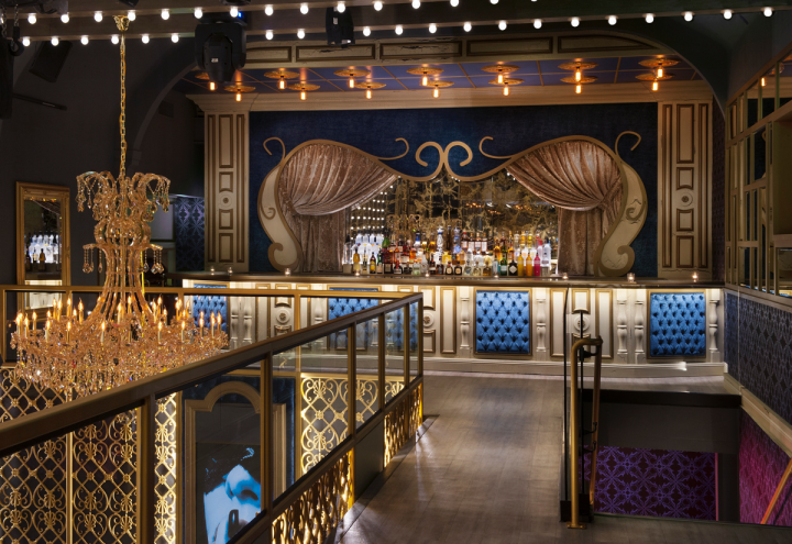 Bottle service and Baroque-style décor reign at San Diego's Cake Nightclub.