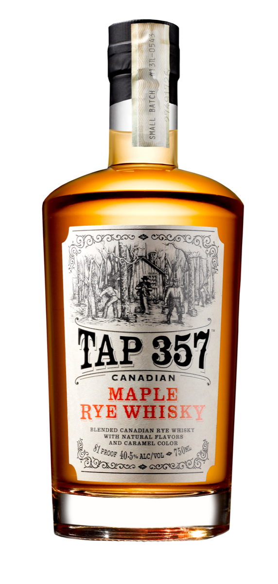 Labels like 375 Park Avenue Spirits' Tap 357 Maple appeal to a broad range of Canadian whisky drinkers.
