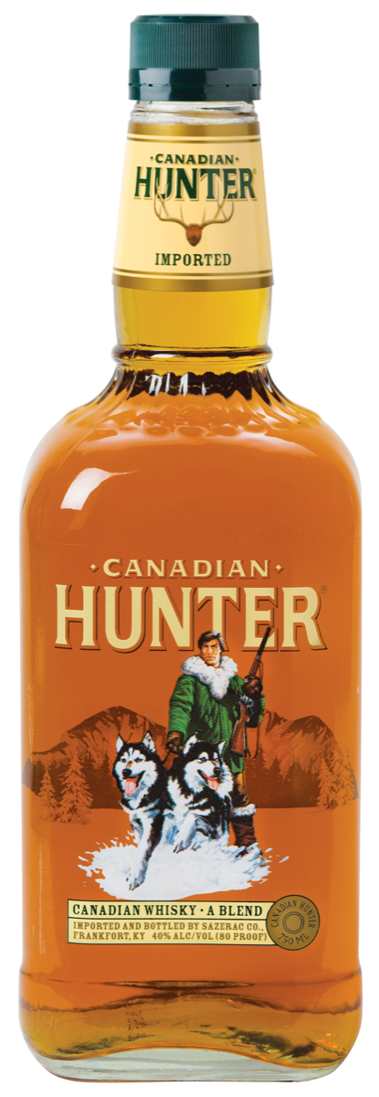 Sazerac Co. markets a wide range of smaller Canadian brands, such as Canadian Hunter, that have regional followings.