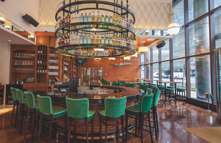 Although the overall category has been down for the past eight years, there are bright spots. In the on-premise, Australian wines continue to provide great quality-to-price value. At C Chicago restaurant (pictured), consumers enjoy Riesling and Sémillon offerings.