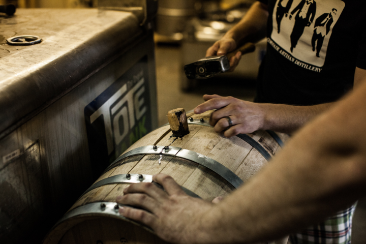 Corsair aims to push the boundaries of distilling, crafting spirits with unique ingredients, smoking materials or other unusual characteristics.