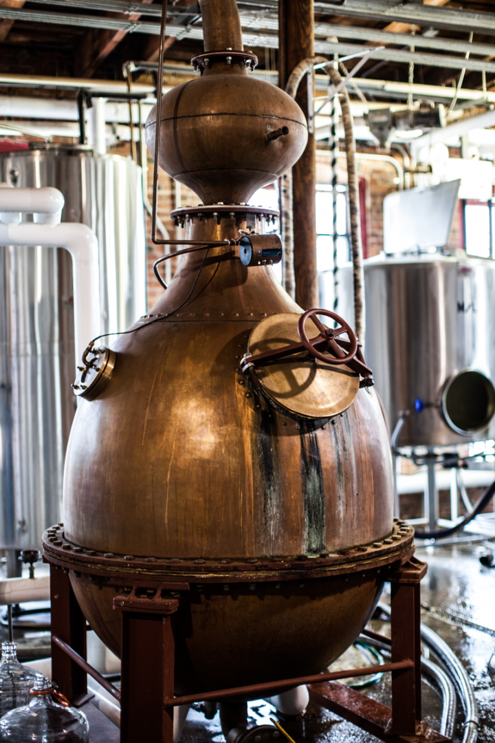 Corsair's founders started off distilling fuel ethanol but quickly found they preferred whiskey.