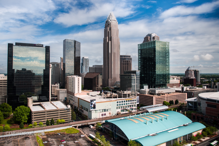 Charlotte, North Carolina's food scene is booming, and Fahrenheit—the city's only rooftop restaurant—offers panoramic skyline views.