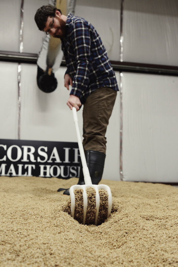 Corsair grows wheat, rye and barley on a family farm, where it also has a malting facility.