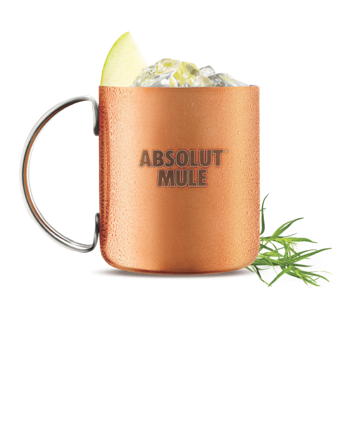 Classic cocktails like the Martini and the Moscow Mule (Absolut Apple Mule pictured) are playing a major role in driving on-premise vodka sales.