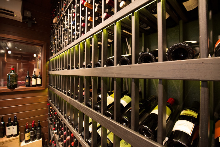 At Madison, Wisconsin's Rare Steakhouse (cellar pictured), customers choose from 23 Argentine wines and often request specific styles of Malbec.