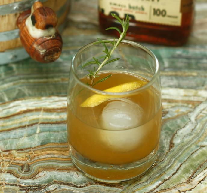 Mixologists have blended old and new by reinventing classics for a modern era. A twist on the traditional Bourbon Sour, the Rosemary Maple Bourbon Sour combines Knob Creek Bourbon with house-made rosemary-maple simple syrup and fresh lemon juice.