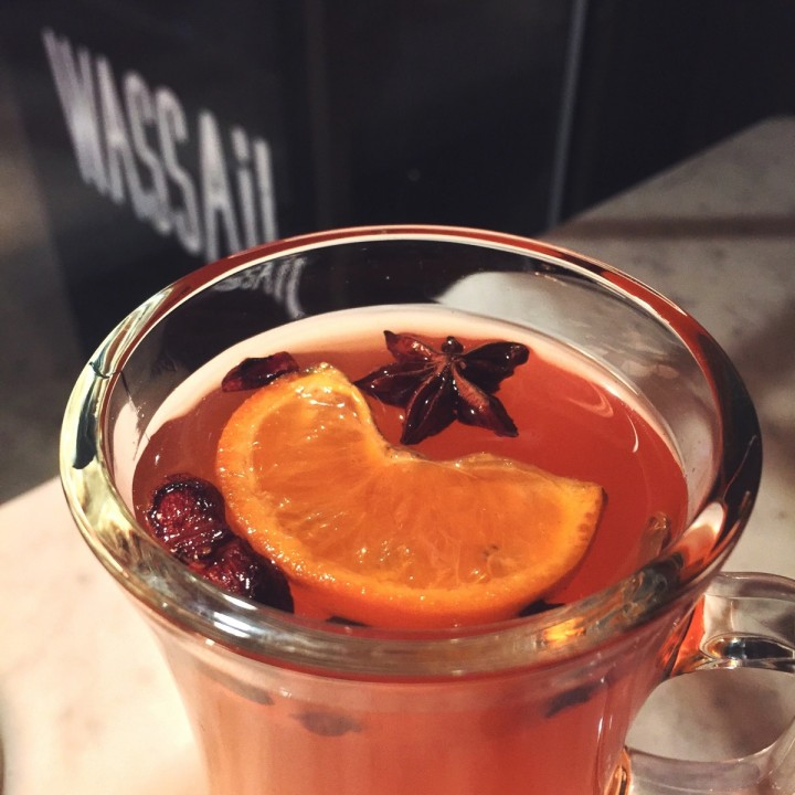 Cider cocktail at Wassail in New York City
