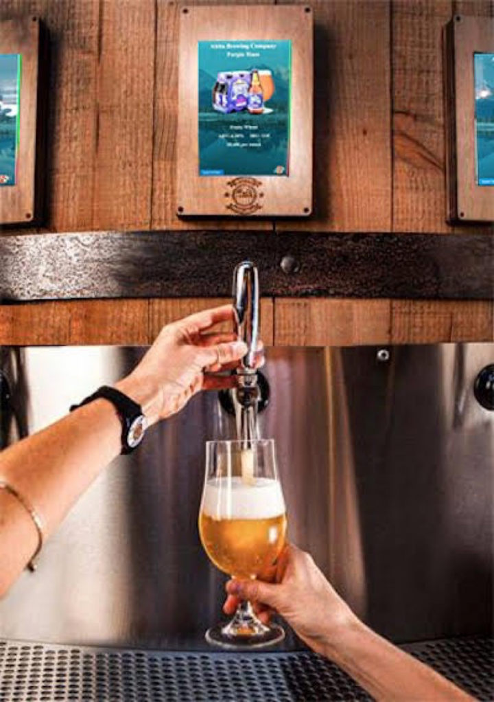 The iPourIt self-serve beer system