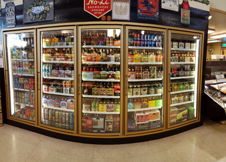 Despite the higher costs, more retailers are refrigerating all their beers for maximum freshness. The Boise Consumer Co-Op (coolers pictured) even chills its back stock.