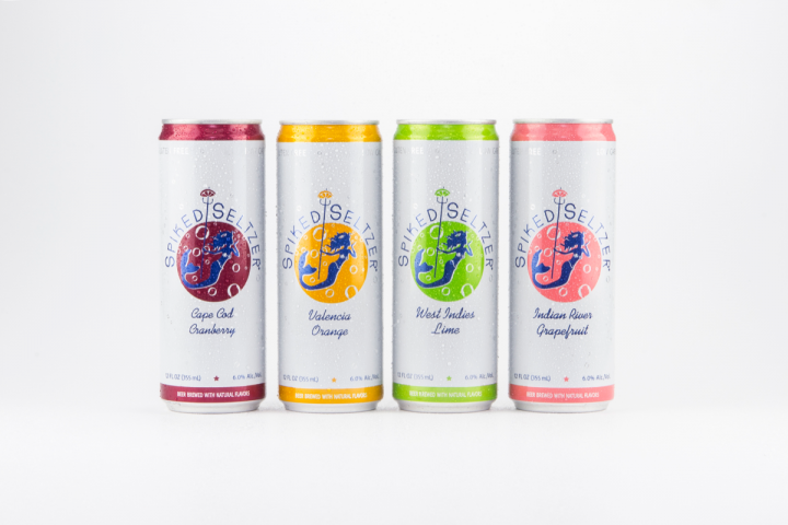 Alcoholic seltzers join the hard soda race for Sparkling water mixed drinks