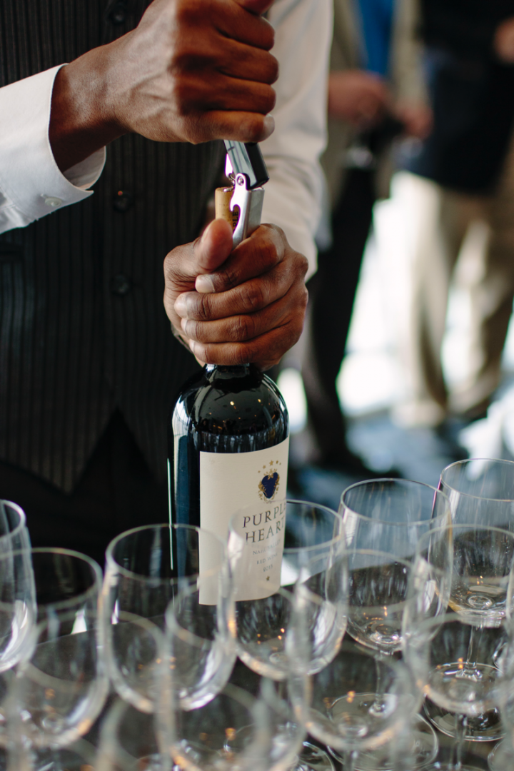 The 2013 Purple Heart red blend has already sold out, but the 2014 vintage is expected in September.