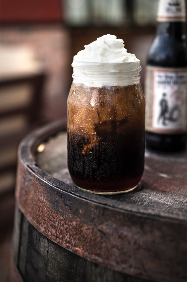 World of Beer offers the Kentucky Hard Root Beer, made with rye whiskey and Not Your Father's Root Beer.