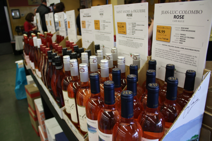 At Wine ConneXtion in North Andover, Massachusetts, rosé is a year-round offering. The ideal price point is $14.
