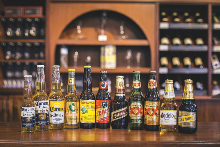 Mexican beer sales in the United States are booming. The category has grown 21 percent since 2013, with the top five labels representing 90 percent of the category's volume.