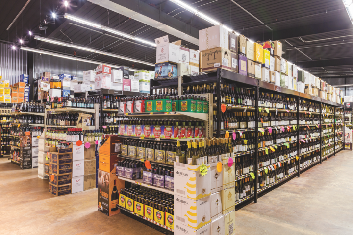 Acquistapace's has a wide-ranging beer selection (pictured), from mainstream brands to high-end imports. The most popular offerings come from local producers like Covington Brewhouse.