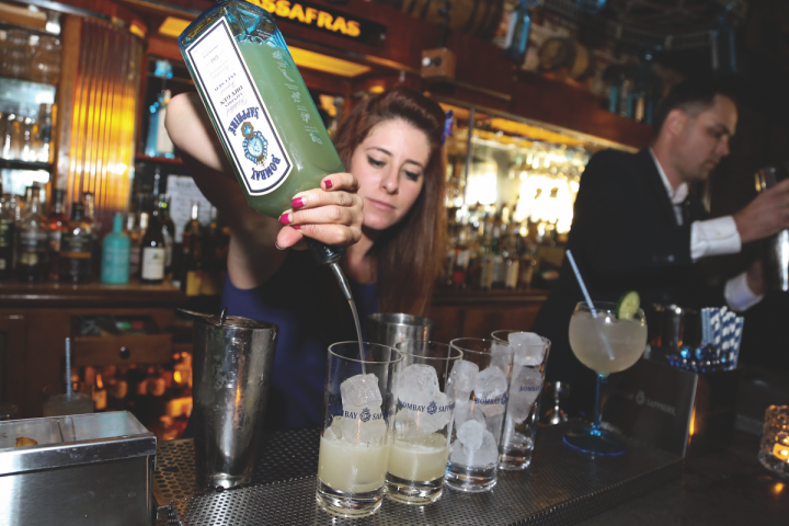 Established gins like Bombay are innovating with new styles amid overall sales declines.
