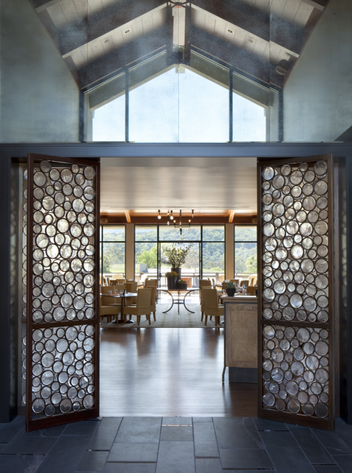 Rosewood Sand Hill Resort's Madera restaurant caters to wine connoisseurs and lists over 800 Pinot Noir labels.