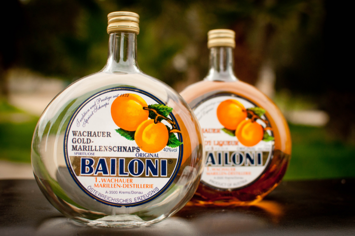 Preiss Imports—part of HPS Epicurean—markets a number of artisanal products, including Bailoni Gold apricot schnapps and liqueur from Austria.