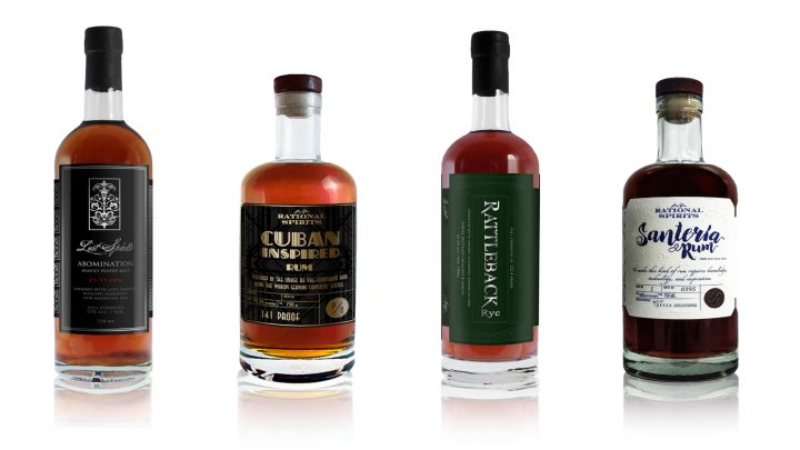 Lost Spirits has two rums and two whiskies, each made using its innovative process.
