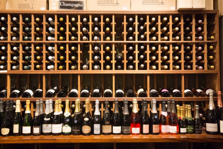Sparkling wines, including crémants, Cavas and Proseccos sell well at Ferry Plaza.
