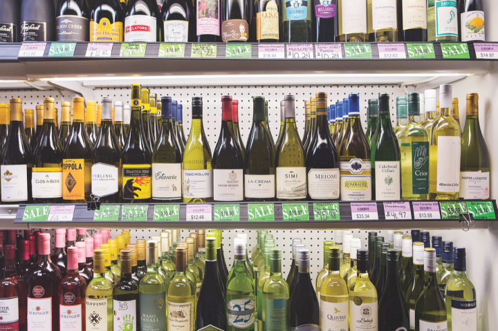 Chilled wines remain popular with consumers at Macadoodles and help keep the wine category buoyant.