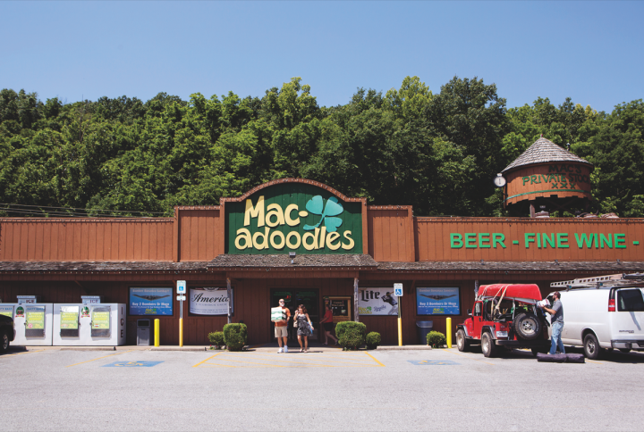 Gildehaus owns only the Pineville Macadoodles (pictured) and has no plans to open more units of his own—or to retire. Instead, he'll evaluate franchise opportunities in Missouri, as well as Oklahoma. He's also hoping to obtain a retail license in Arkansas.