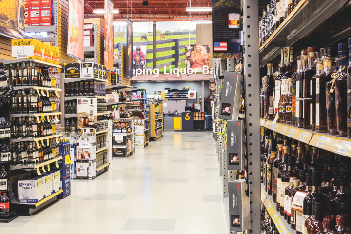 With locations across the country, Liquor Stores N.A. (Liquor Barn pictured) has staff devoted to dealing with varying state laws. The company is expanding into new markets, especially in the Northeast.