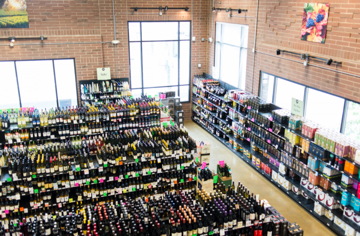 Argonaut's massive selection spans some 17,000 SKUs, including 6,775 wine SKUs. Wine (pictured) accounts for 41 percent of sales.