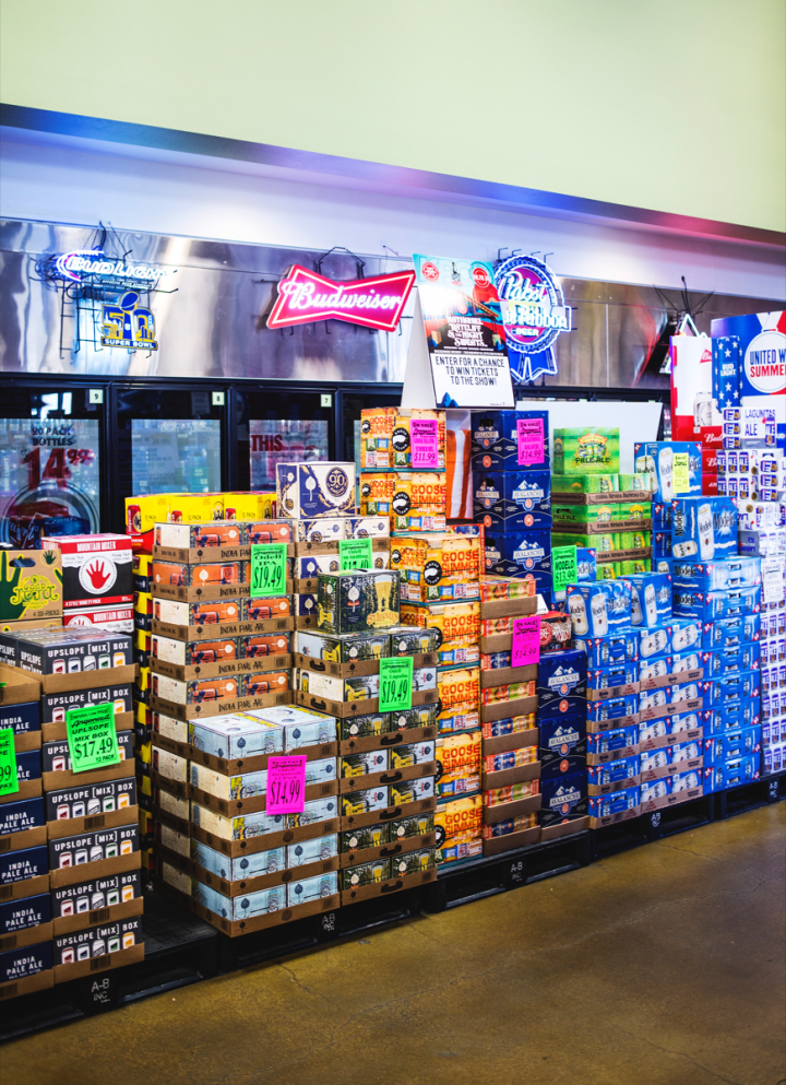 With Colorado home to some of the country's top craft breweries, Argonaut offers 5,000 beer SKUs, most of them locally made.