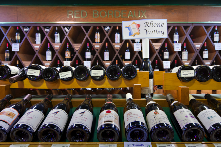 The chain's vast French wine selection remains a highlight for consumers in the Midwest.