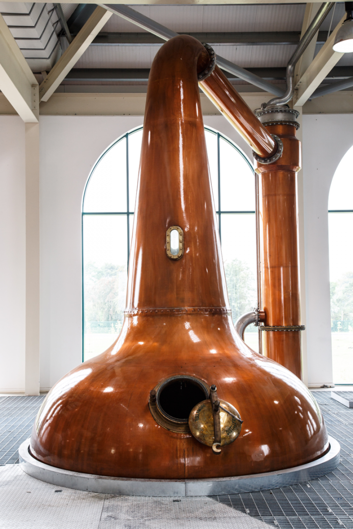 After decades of purchasing whiskey from other distilleries, William Grant & Sons' Tullamore DEW (malt still pictured) brand opened its own facility in 2014.