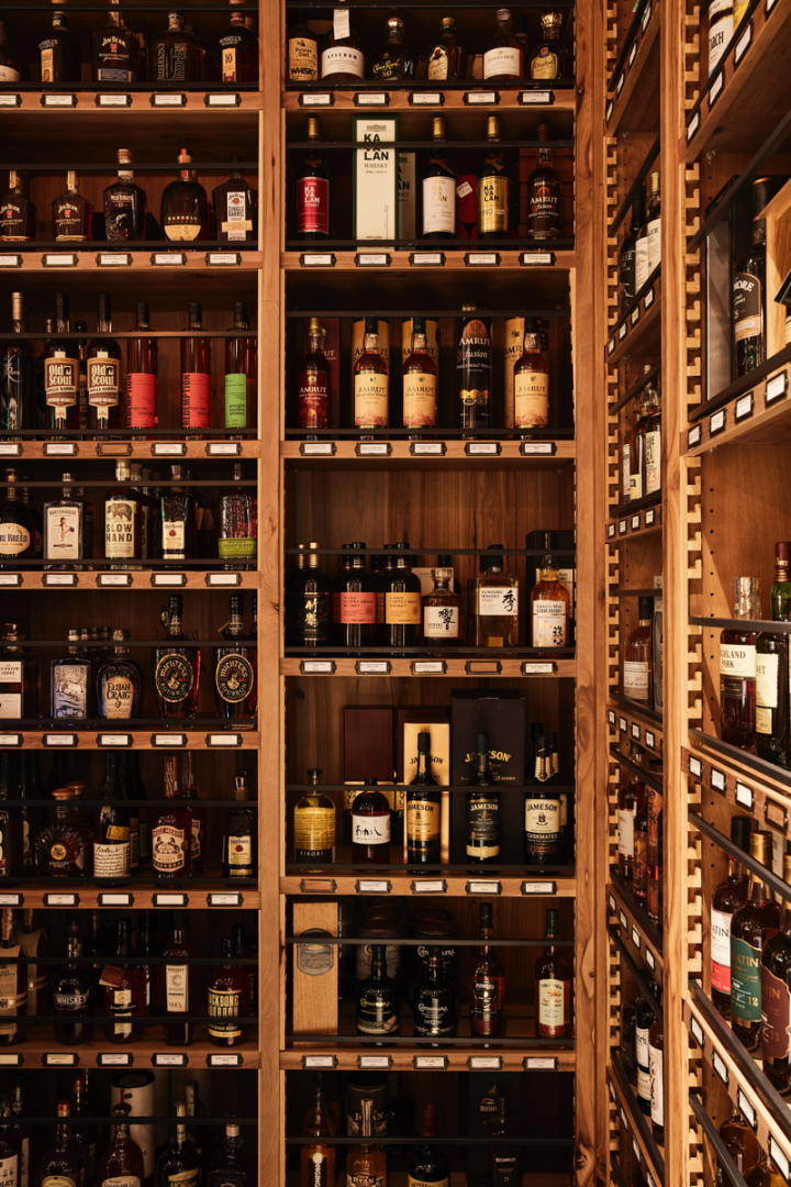 Wally's spirits selection focuses on upscale and craft brands, with Tequila and whisk(e)y thriving.
