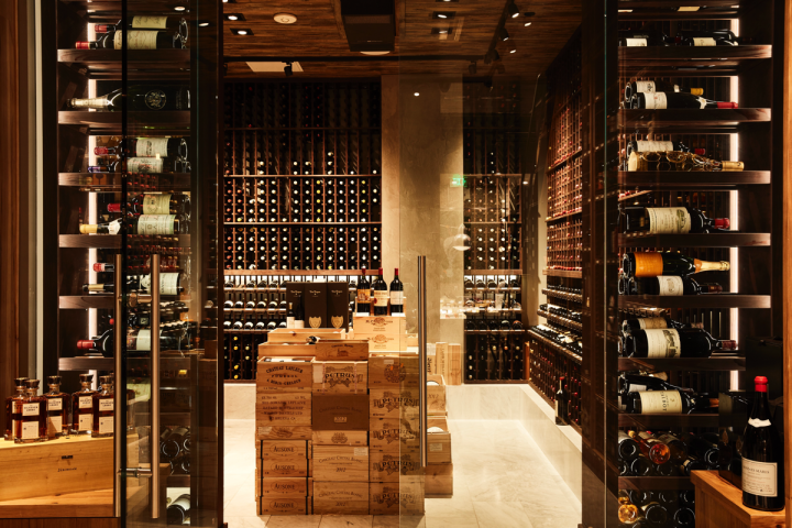 Wine comprises nearly 90 percent of sales at Wally's. Bordeaux, Burgundy, Champagne and high-end California offerings do well.