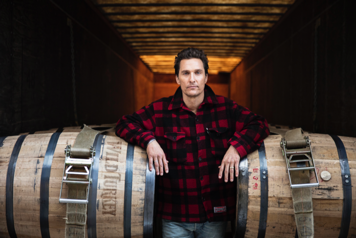 Matthew McConaughey took on the role of creative director for Wild Turkey in August 2016.