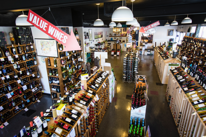 With 10,000 wine SKUs covering all price points, Jubilation does a brisk business in domestic red blends, as well as Spanish, Argentine, Portuguese and French labels.