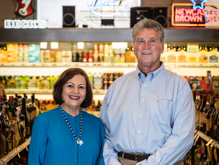 Carol Rivera Zonski and John Zonski have beaten the odds in the tough Albuquerque market, building  Jubilation Wine & Spirits into a successful single-unit business.