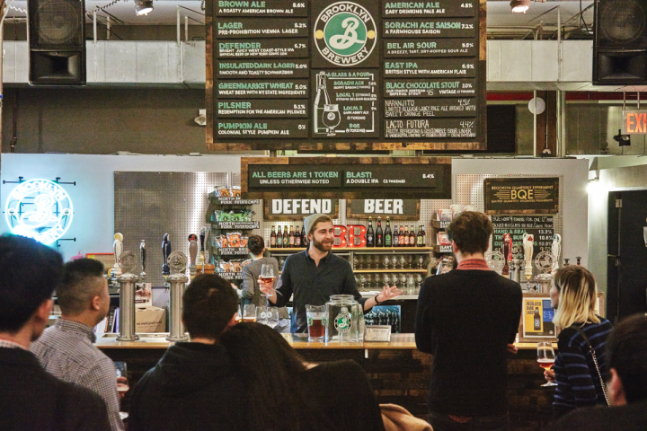 The brewery's taproom welcomes 3,000 to 4,000 guests from around the world every week. The company also brews beer in upstate New York and Scandinavia.