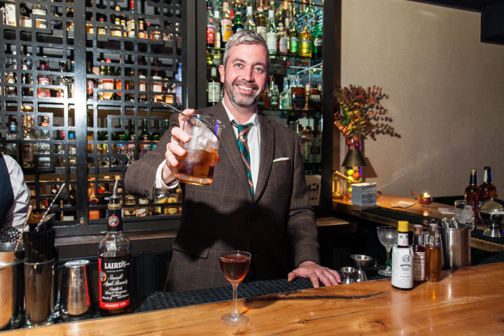 St. John Frizell (pictured) of the Brooklyn, New York, restaurant Fort Defiance aims to clear up the misconception that brandy is a sweet liqueur by creating sophisticated cocktails with the spirit.