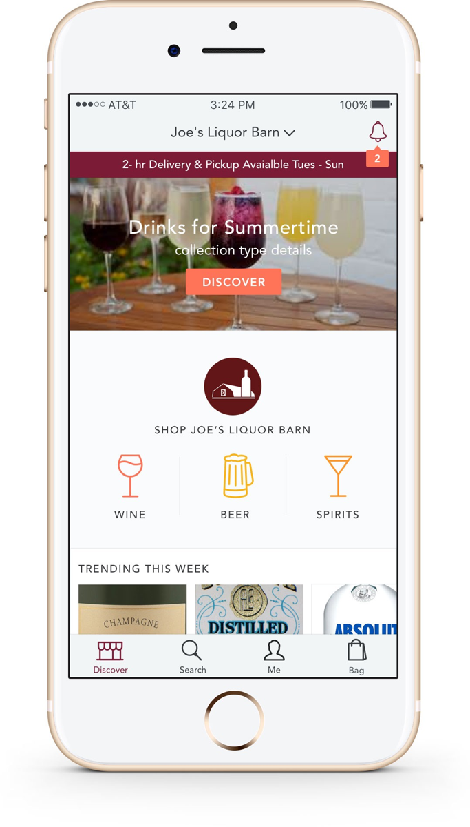 Thanks to Drync's customization, retailers can now have their own mobile app offering shopping, deals and more for local consumers.