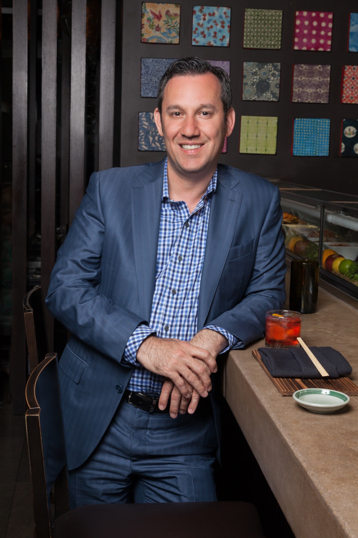 Kimpton senior vice president of restaurants and bars Alex Taylor oversees all of the company's restaurant and bar staff, from chefs to mixologists.