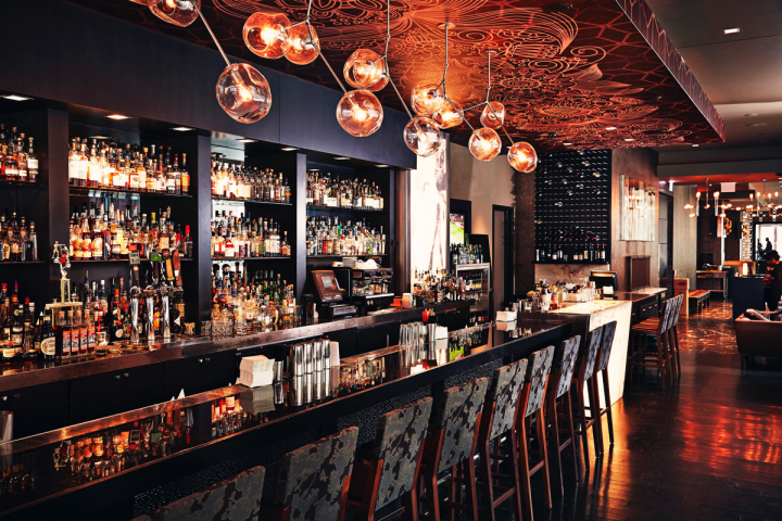 Kimpton Hotels & Restaurants operates 66 hotels and 82 restaurants, including Sable Kitchen + Bar (pictured) in Chicago.