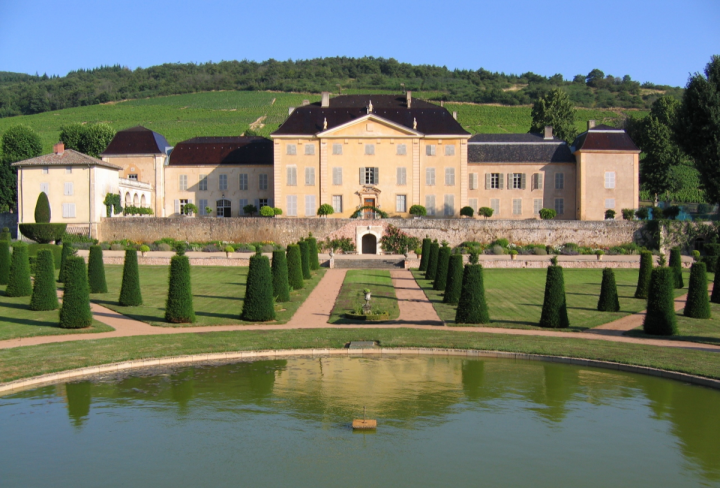 The company's Esprit du Vin division features upscale French wineries like Château de la Chaize (pictured).