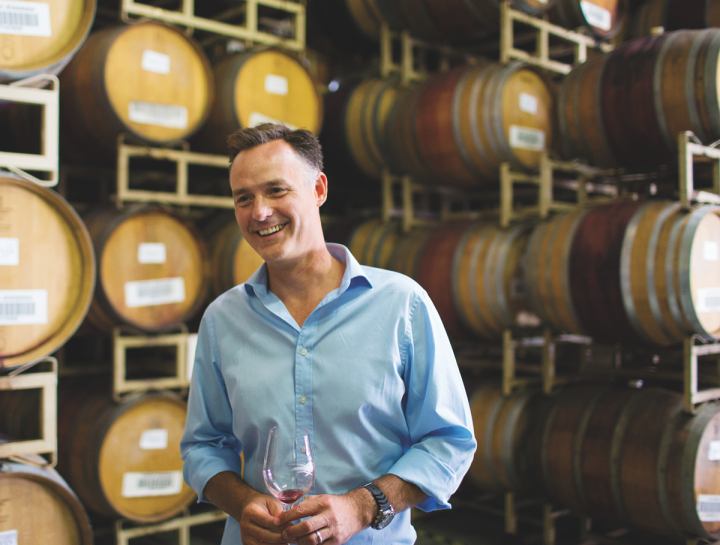 Based in the Santa Lucia Highlands, Hahn Family Wines (president Tony Baldini pictured) has won renown for its cool-climate Pinot Noir.