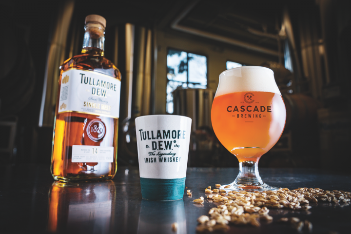 Beer brands are increasingly joining with spirits labels to cross-promote their products. Tullamore DEW Irish whiskey recently partnered with several local craft brewers for a nationwide effort.
