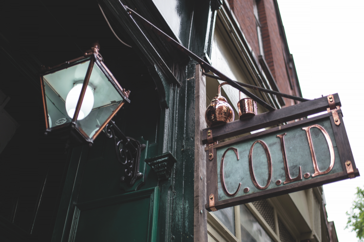 The City of London Distillery (above) has been producing and serving gin since 2012. As more gin operations open across the U.K., some distillery owners are growing concerned about the implications of an oversaturated market.