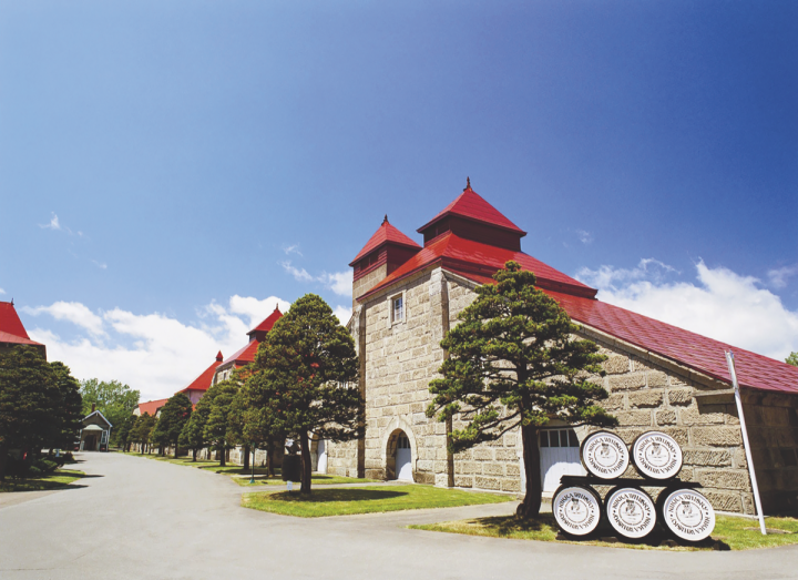 Nikka's Hokkaido-based Yoichi distillery (above) produces rich, peaty malt and uses direct coal-fired heating to fire the stills.